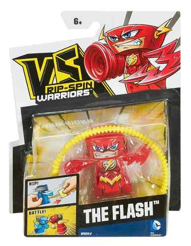 Oferta Vs Rip Spin Warriors Dc Super Hero Muñeco Flash *