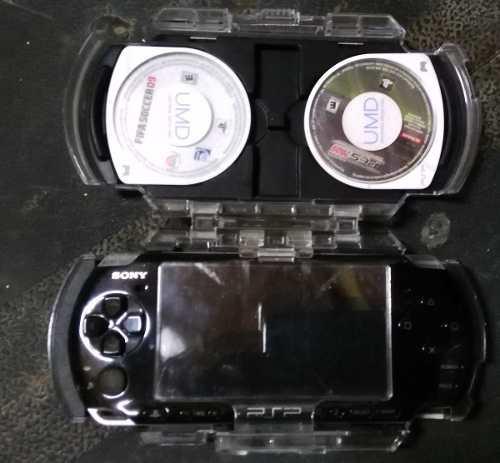 Psp Slim 3010 Con Memoria De 32 Gb Con Juegos + 3 Juegos Umd