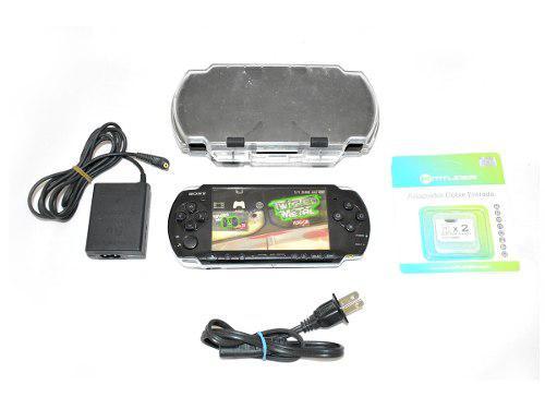 Psp Slim Negro Modelo 3010 32gb Ed. Gamer Kit Seminuevo Sony