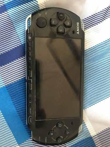 Psp Sony Negro Con Juegos