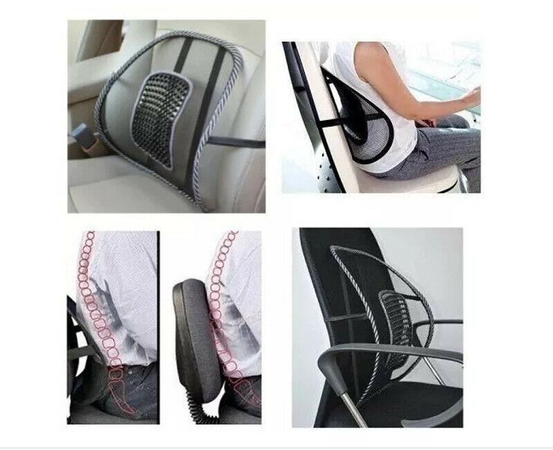 Respaldo Asiento Confort Lumbar Para Auto O Silla Oficina