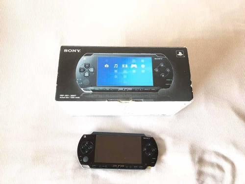 Sony Psp Slim 1001 En Caja Original Con Todos Sus Accesorios