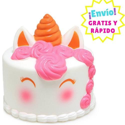 Squishy Aroma: Pastel De Unicornio Med -envío Full Gratis-