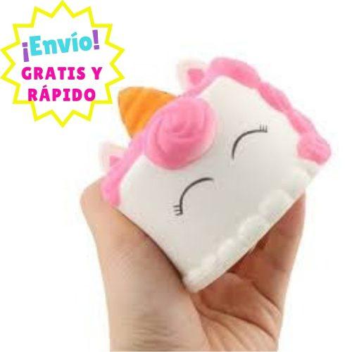 Squishy Aromático: Pastel De Unicornio Mini - Envío Gratis