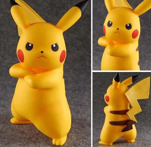 Super Figura Muñeco Pokemon Pikachu Pokebola Envio Gratis