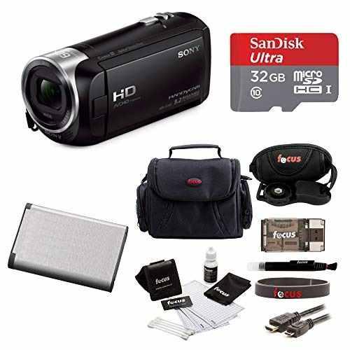 Videocámara Sony Handycam Hdrcxp Full Hd 60p Sd