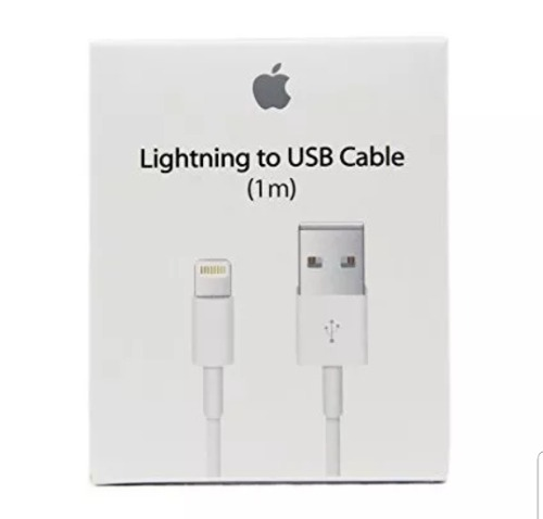 Cable Iphone Lightning 1m Usb Celular Carga Rapida