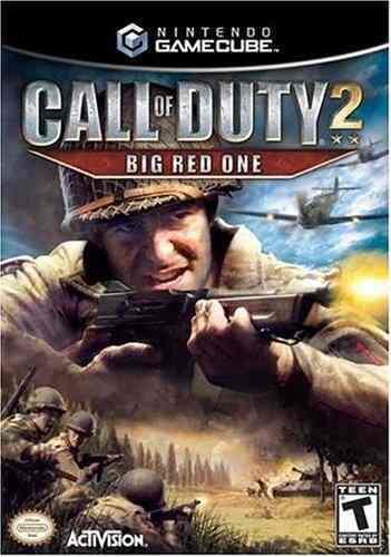 Call Of Deber 2: Grande Rojo Uno - Gamecube