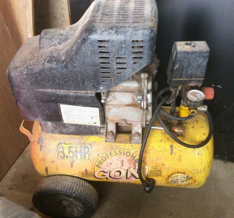 Compresor de aire Goni 25 Lt 3.5 HP