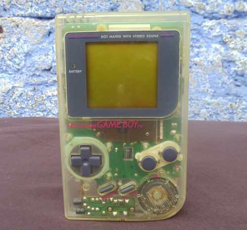 Game Boy Clásico Translucido Tabique Transparente