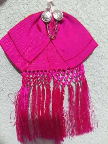 Moño Charro Tricolor Corbatin Traje Regional Color