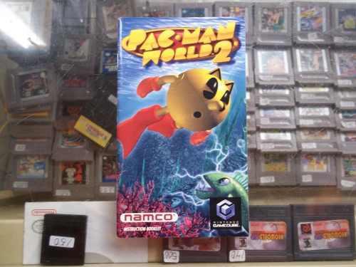 Pac-man World 2 Gamecube Solo Manual O Instructivo