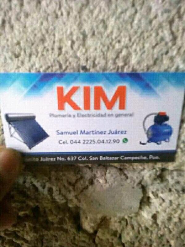 Plomeria y electricidad kim