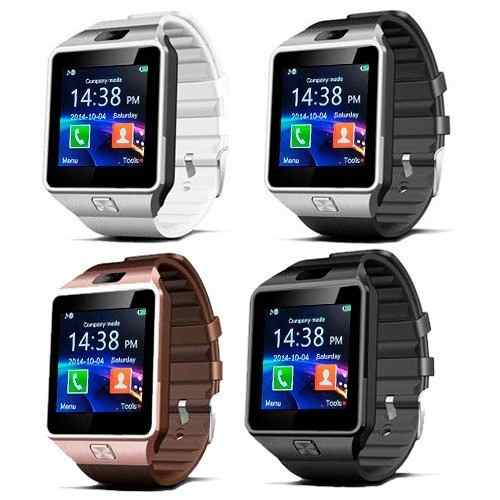 Reloj Celular Inteligente Smart Watch Dz09 Cámara Sim.