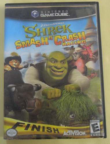 Shrek Smashn Crash Racing Para Nintendo Gamecube