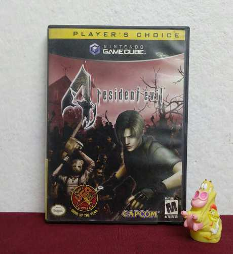 Solamente Caja Y Manual Resident Evil 4 Gamecube