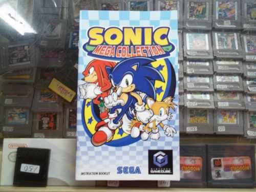 Sonic Mega Collection Gamecube Solo Manual O Instructivo