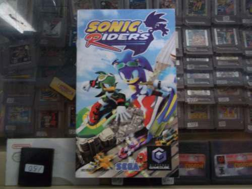 Sonic Riders Gamecube Manual O Instructivo