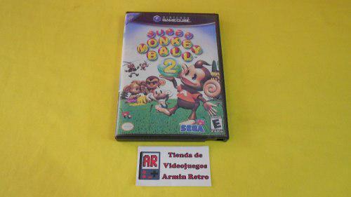 Super Monkey Ball 2 Gamecube *portada Custom*