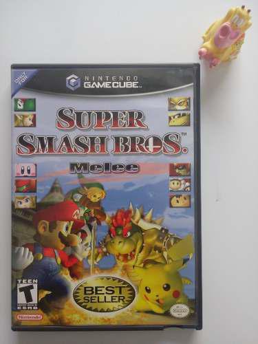 Super Smash Bros. Melee Nintendo Game Cube Garantizado