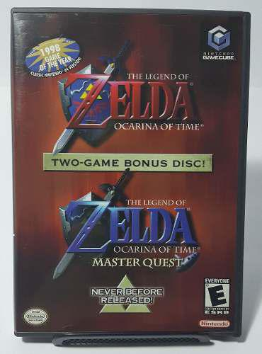 The Legend Zelda Ocarina Time Master Quest Gamecube Manual
