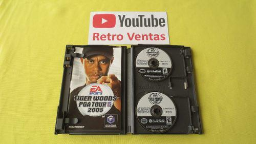 Tiger Woods Pga Tour 2005 Gamecube Hasta 4 Players