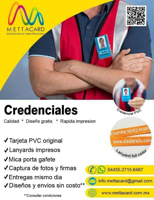 Trabajos de maquila e Identificaciones de PVC urgentes