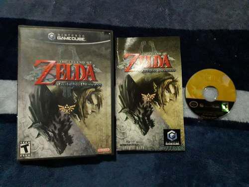Zelda Twilight Princess Completo Para Nintendo Game Cube
