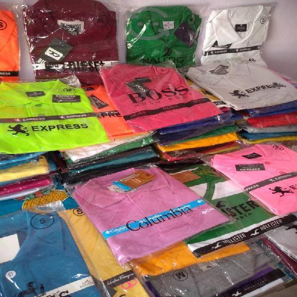 playeras todas las tallas y variedad de colores