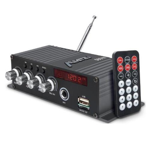 Amplificador Perifoneo Voceo Usb Fm Mp3 Mic Bluetooth 78bt