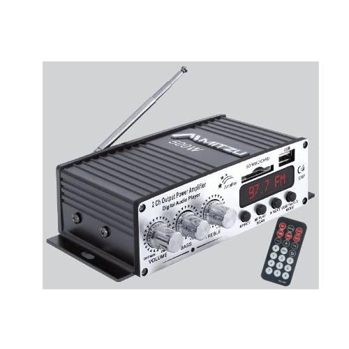 Amplificador Perifoneo Voceo Usb Fm Mp3 Mitzu 78usb