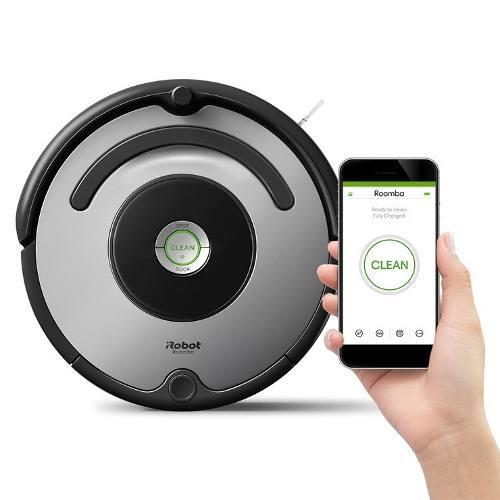 Aspiradora Electrica Robot Roomba 677 Programable Wifi
