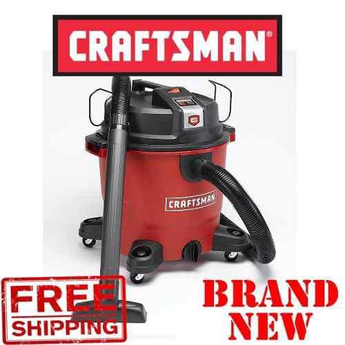 Craftsman Xsp 16 Galones 6.5 Pico Hp Wet / Dry Shop Vac / Bl