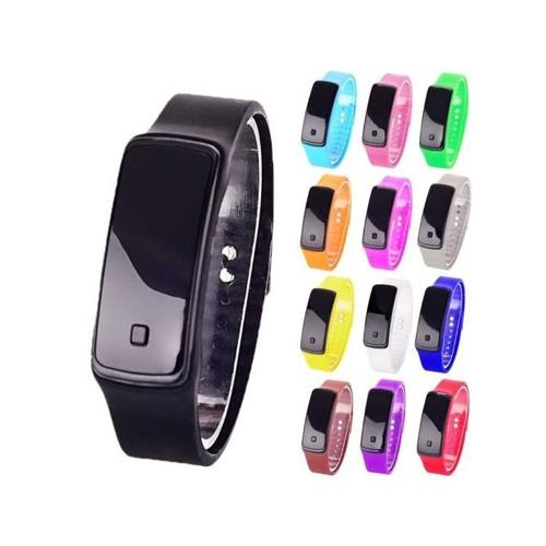 Lote Mayoreo 20 Pz Reloj Touch Led Digital Deportivo Colores