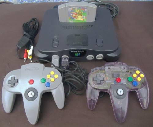 Nintendo 64 Con Juego De Super Mario 64, N64