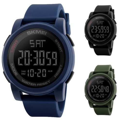 Reloj Skmei Deportivo Digital Cronometro Sumergible