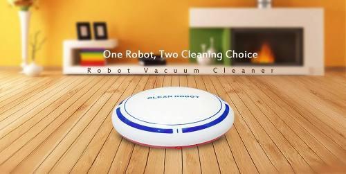Robot Aspiradora Barre Sm-004 2 En 1 Recargable Envio Gratis