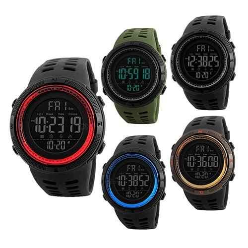 Skmei  Reloj Hombre Deportivo Digital Sumergible 50 M