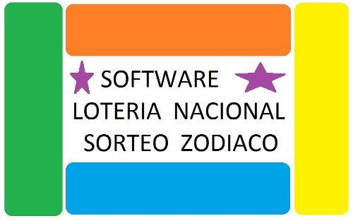 Software Para Pronosticar Loteria Nacional Sorteo Zodiaco