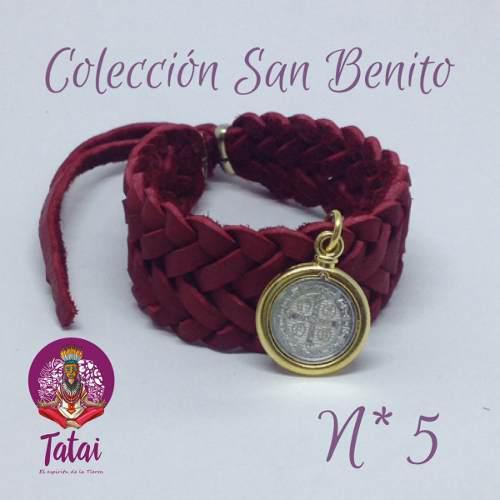 Tatai Tienda | Pulsera De Protección San Benito 1pz
