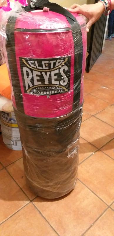 COSTAL DE BOX CLETO REYES LONA Y PIEL