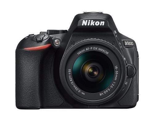 Cámara Nikon D Con Lente Af-p Dx Nikkor mm Vr