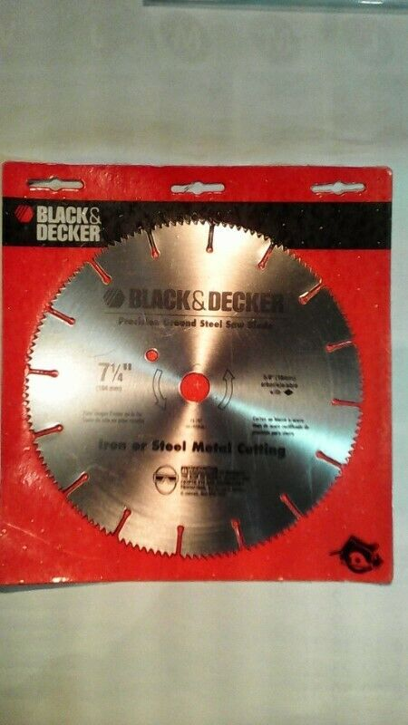 Corte de metal Black&Decker Disco p/Sierras 7 1/4