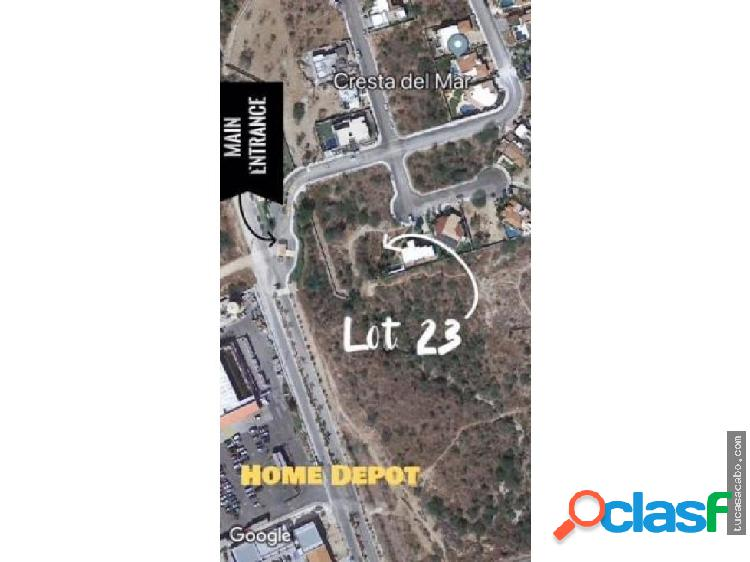 Cresta del Mar Lot. 23 - San Lucas