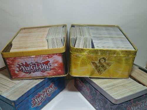 Lata Con 600 Cartas De Yu-gi-ho Al Azar Nuevas C/envio