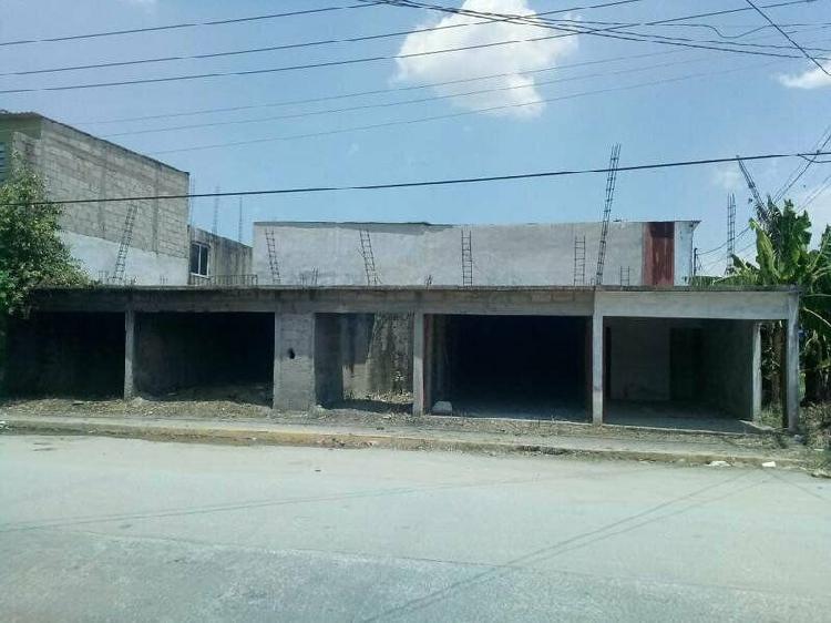 Locales en Obra Gris en VENTA en Ixtacomitán 1era. Secc. /