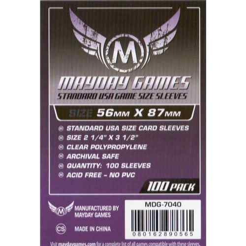 Mayday Micas Standard Usa 56x87mm Pack 100