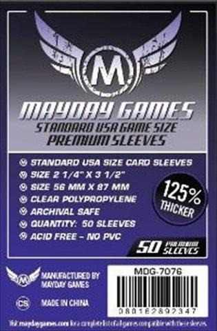 Mayday Micas Standard Usa Premium 56x87mm Transparente Pack