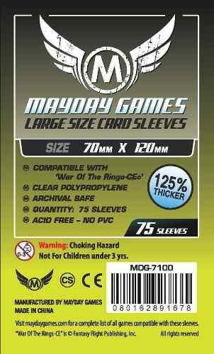 Mayday Micas Transparentes Tarot Standard 70x120mm