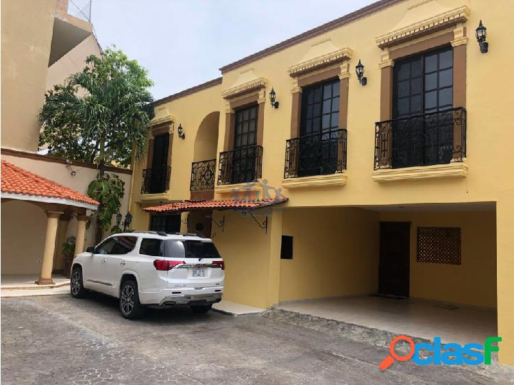 RENTA CASA DE 4 RECAMARAS EN PRIVADA MALIBRAN